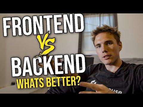 Frontend VS Backend | #grindreel