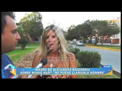 """Madre de Alejandra Baigorria sobre su hija: """"Parte de su depresión es por él"""""""