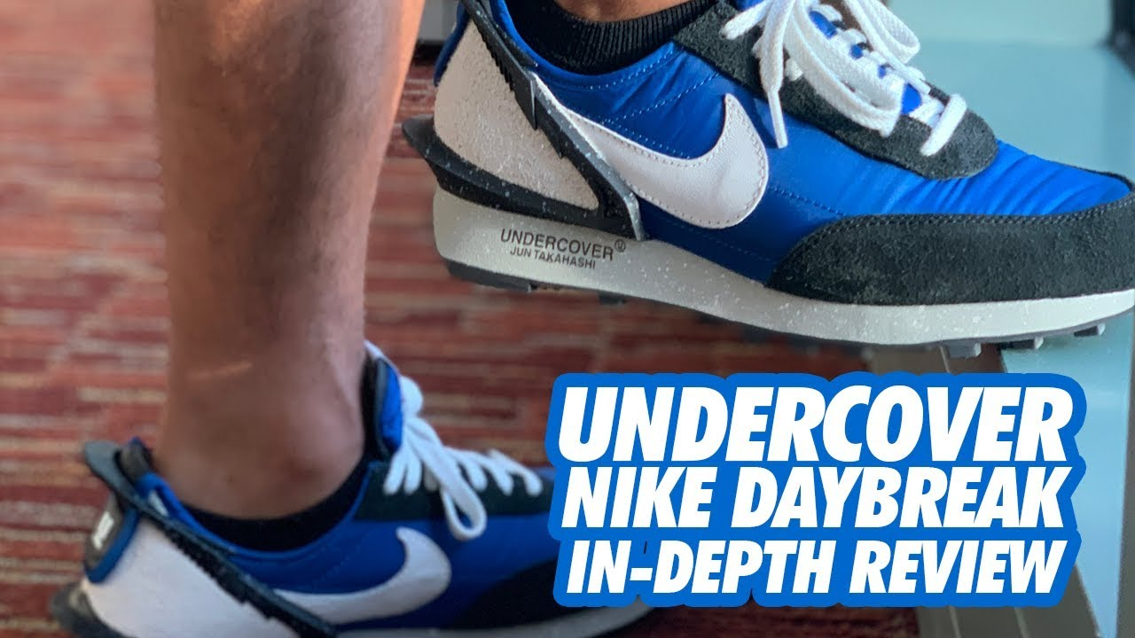 NIKE x UNDERCOVER DAYBREAK BLUE JAY UNBOXING \u0026 ON,FEET REVIEW!