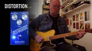 Distortion Ltd. In Focus: Greer Amplification Lightspeed Organic Overdrive - Brett Kingman Demo