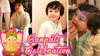 Taimur Ali Khan's GANPATI CELEBRATION With Kareena Kapoor, Aadar Jain And Family