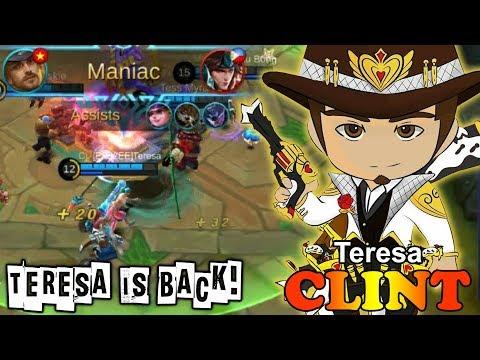 Teresa is Back! Solo Ranked [Teresa] Mobile Legends Clint Gameplay