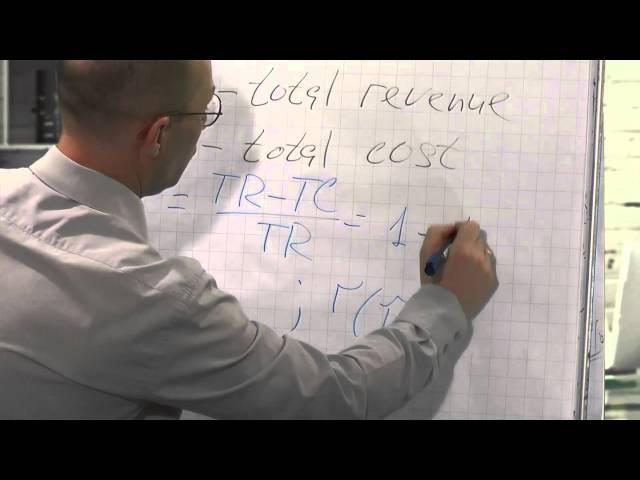 Лекция 2: Связь нормы прибыли и нормы рентабельности