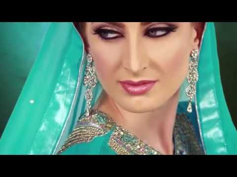 Subtle Taupe Indian  Asian Bridal Makeup 2016