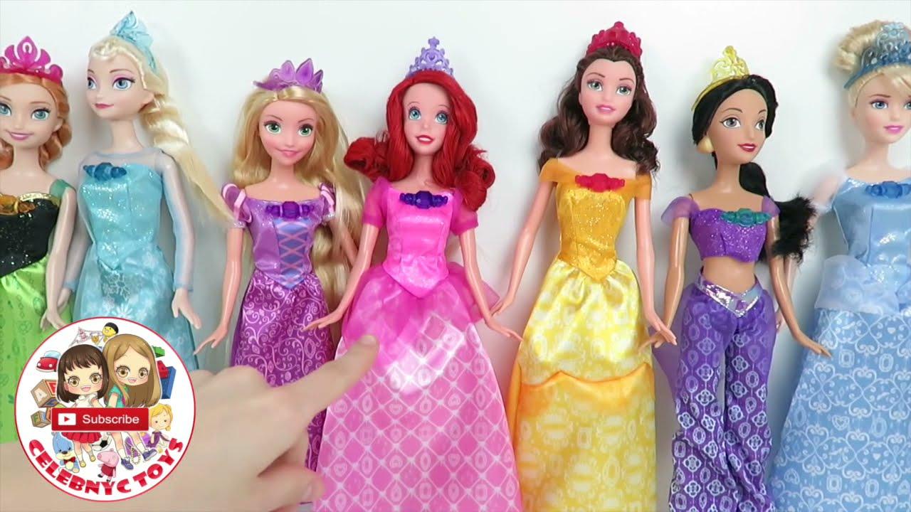 Elsa and Anna Frozen Dolls