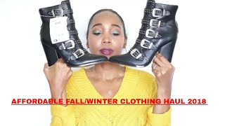 Affordable fall and winter collective try on haul | Roxie Stars