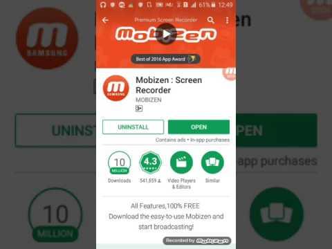 Скачать mobizen screen recorder for samsung apk бесплатно.