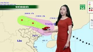 Thời tiết 12h 17/09/2018: Bão số 6 không vào Việt Nam | VTC14