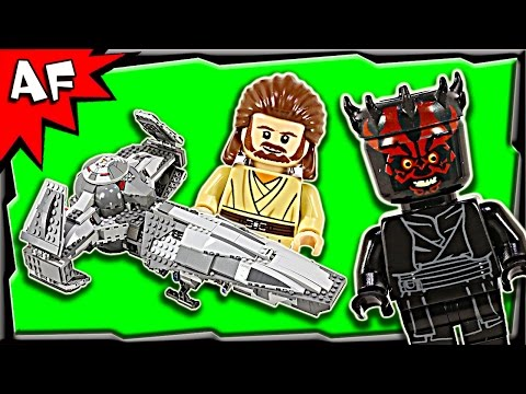 Lego Star Wars SITH INFILTRATOR 75096 Stop Motion Build Review