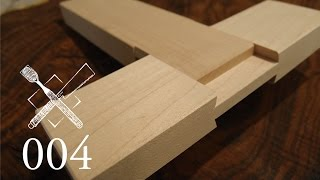 Joint Venture Ep. 4: Through dovetailed bridle joint (Western Joinery)