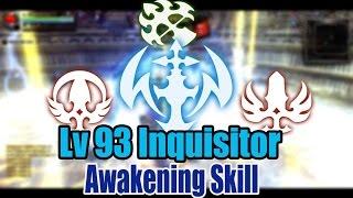 Dragon Nest Kr - Lv 93 Inquisitor,Moonlord,Gladiator & Windwalker PvP KOF #Awakening Skill