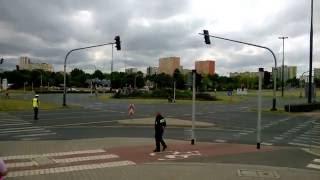 Żużel na rondzie - Lublin
