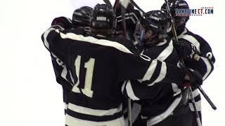 Greenwich vs. Xavier Division 1 ice hockey semifinals