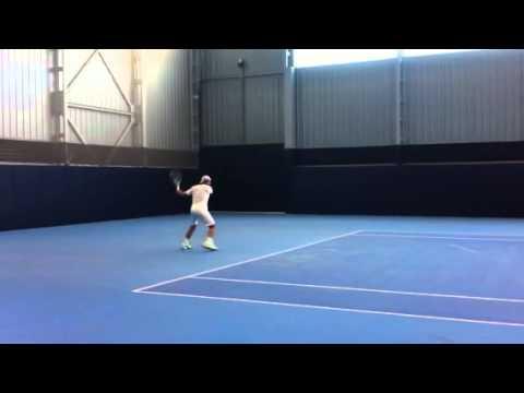 Primer entrenamiento en pista / First Practice on the court