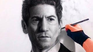 Drawing Punisher / Shane Walsh / Jon Bernthal (from live workshop) Art Drawing Video