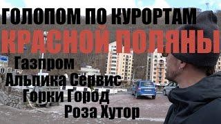 Галопом по курортам Красной Поляны (г.Сочи)
