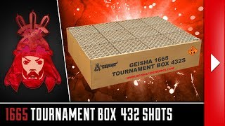1665 Tournament Box 432'S - Geisha - Vuurwerkmania