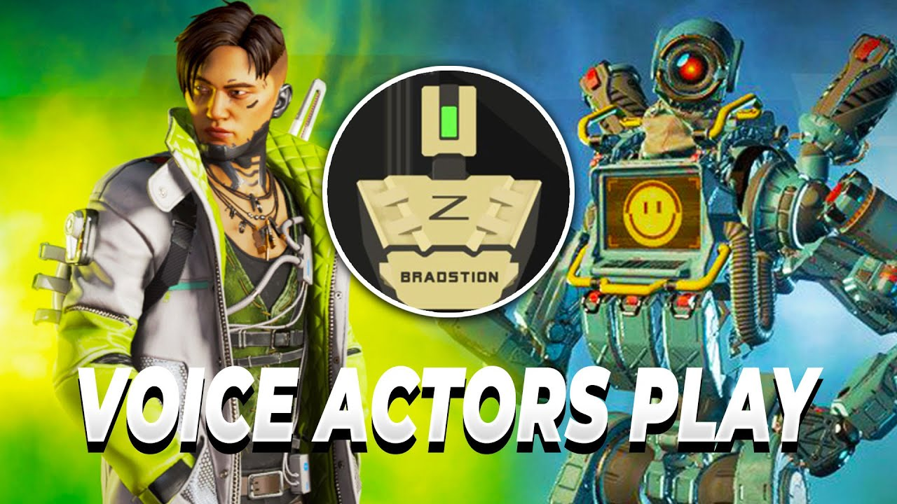 APEX VOICE ACTORS TEAM UP WITH ZYLBRAD!!! Ft Pathfinder and Crypto