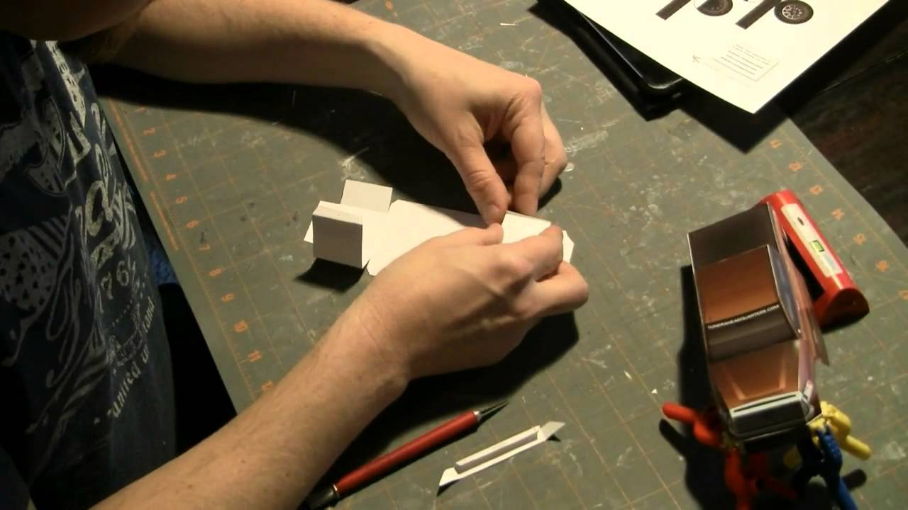 Papercraft Creating the 2014ToyotaTundra paper model