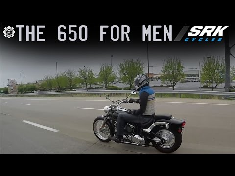 Is the V star 650 big enough for a man? highway
