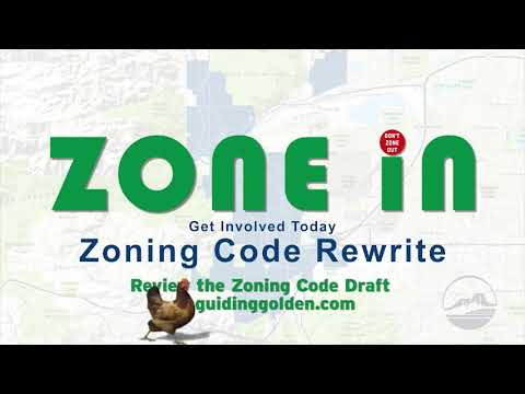 Why did the chicken cross the road? Zone in to the Zoning Code Rewrite!