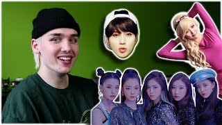 reacting to new k-pop songs [ITZY / HWASA / TAEMIN]