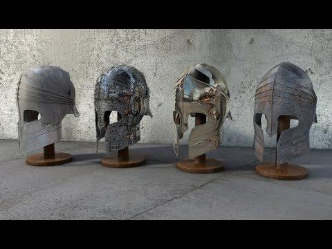 Tutorial Cinema 4D - Modelagem de Elmo Romano