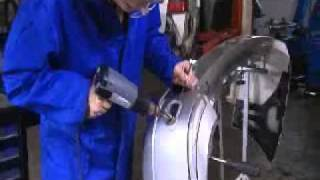 видео Паяльник для ремонта бамперов, автопластика. Фен для пайки пластиковых автомобильных деталей
