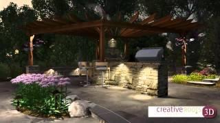 3D Landscape & Hardscape Design - Client Marketing Video