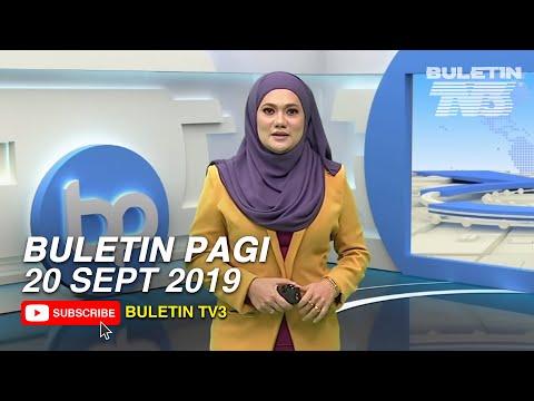 Buletin Pagi (2019) | Jumaat, 20 September
