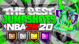 *NEW* BEST JUMPSHOTS FOR EVERY QUICK DRAW & POSITION in NBA 2K20
