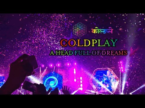 COLDPLAY LIVE IN BANGKOK 2017 #AHFODtour