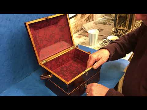 Antique Regency Period Jewellery Box