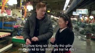 Hài nước ngoài Conan O'brien thăm chợ cá Noryangjin [Vietsub] || CoCo VN