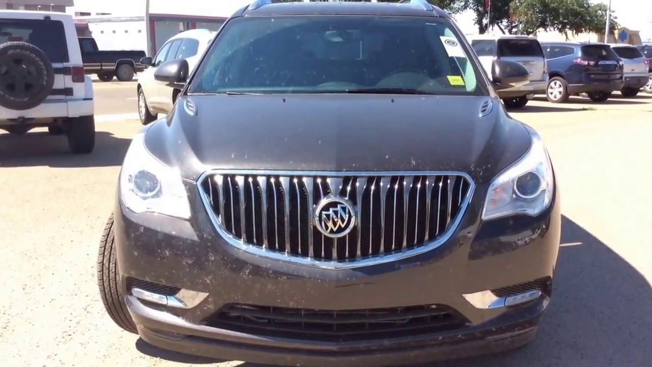 2017 Buick Enclave Awd With 8 Penger Seating Auto Tri Zone Climate Control Safety Features