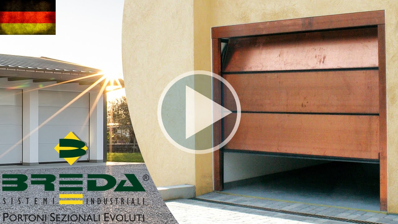 breda sektional garagentore youtube. Black Bedroom Furniture Sets. Home Design Ideas