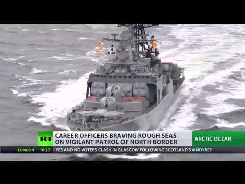 Brutal Arctic: Northern fleet pushes warships to the limit