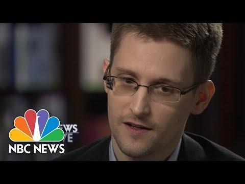 Did Snowden Vote For Obama? | NBC News