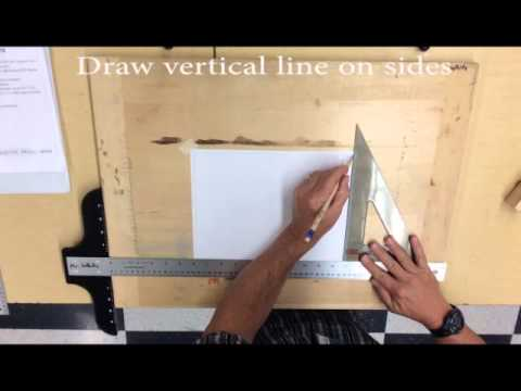 Setting Up A Border For Technical Drawing