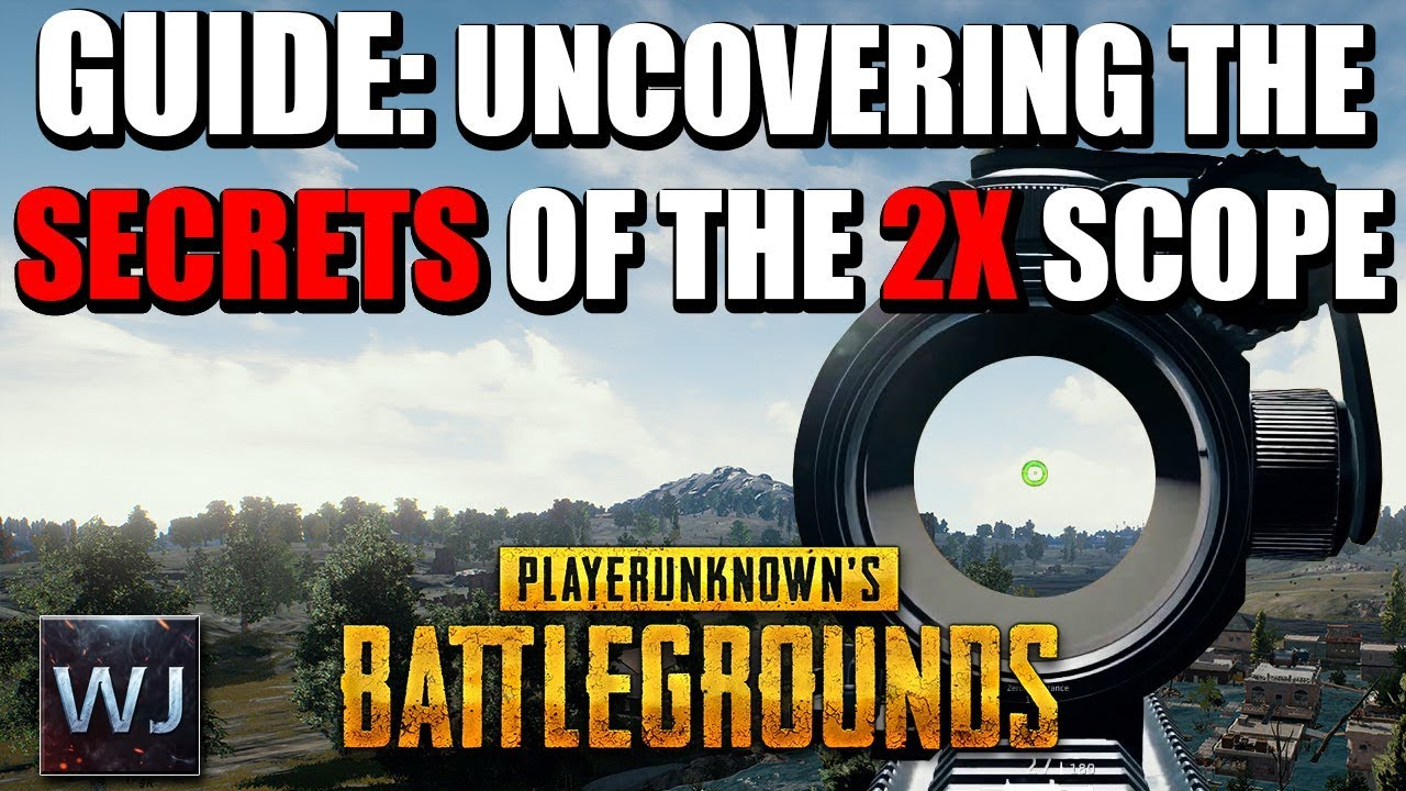 Download GUIDE: Uncovering the SECRETS of the 2X SCOPE in PLAYERUNKNOWN's BATTLEGROUNDS (PUBG)