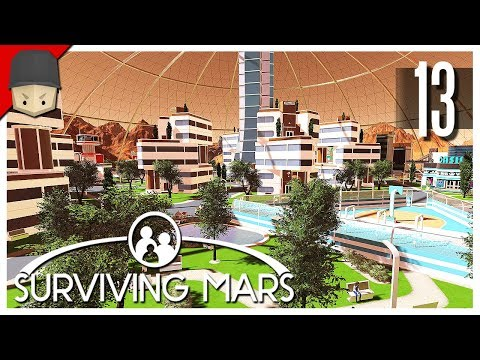 Surviving Mars - Ep.13 : THE MEGA DOME!