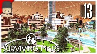 Surviving Mars - Ep.13 : THE MEGA DOME!