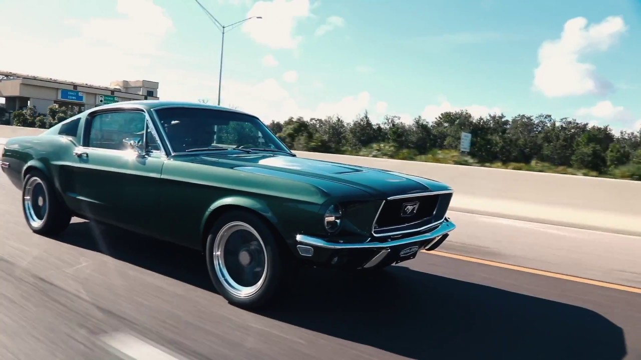 Production car review highland green 1968 revology mustang 2 2 fastback