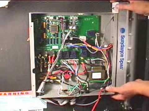 how to replace sundance spas heater for 880 series wmv youtube rh youtube com Sundance Spas Sundance Hot Tub Maintenance