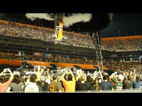 U2 360 Tour 2011 Live Miami Best Opening Ever - Even better than the real thing HD