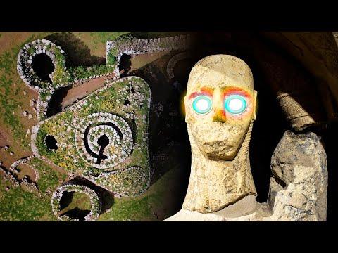 ¡Überreste Von RIESIGEN WESEN Auf Mittelmeerinsel Entdeckt!