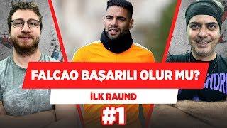 """""""Falcao Galatasaray'da başarılı olur mu?""""   Uğur Karakullukçu & Ali Ece   İlk Raund #1"""