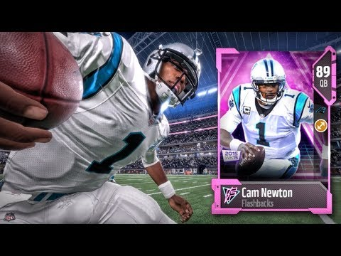 FLASHBACK CAM NEWTON IS A MONSTER! Madden 18 Ultimate Team Gameplay