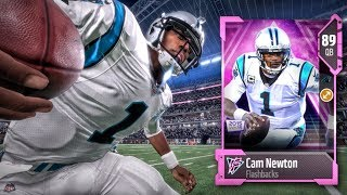 FLASHBACK CAM NEWTON IS A MONSTER Madden 18 Ultimate Team Gameplay