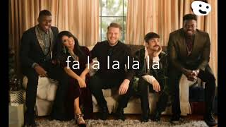 Pentatonix- Deck the Halls (LYRICS)